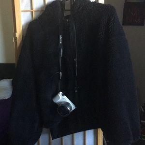 Short faux coat